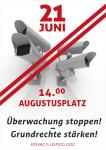 Flyer PrivacyLeipzig 21. Juni 2014