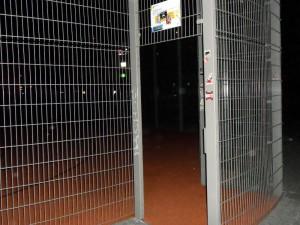leerer Streeballplatz in Connewitz